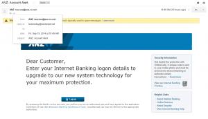 anz phishing
