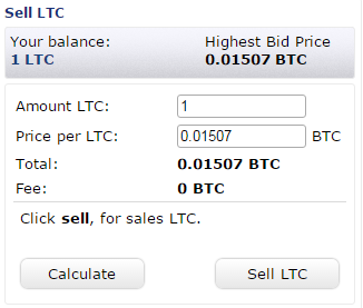 sell lite coin