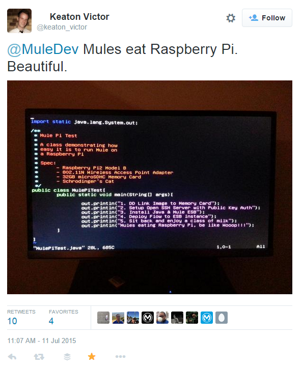 How to get Mule ESB going on a Raspberry Pi 2 – An